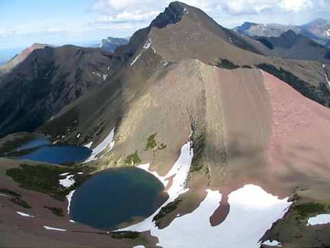 West Ridge of Mt. Alderson